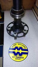 Mark Williams Hi Torque Superlite Axle 35 Spline gun drilled GM Superstuds ONE!