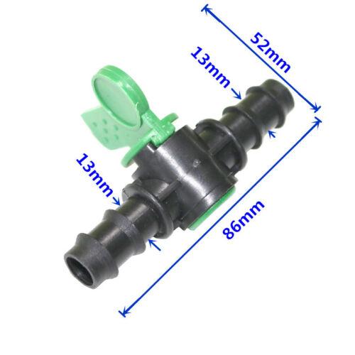 NUOVA VALVOLA con doppio Barb IRRIGAZIONE TUBO DELL/'ACQUA Flow Control connessione Taglia 13