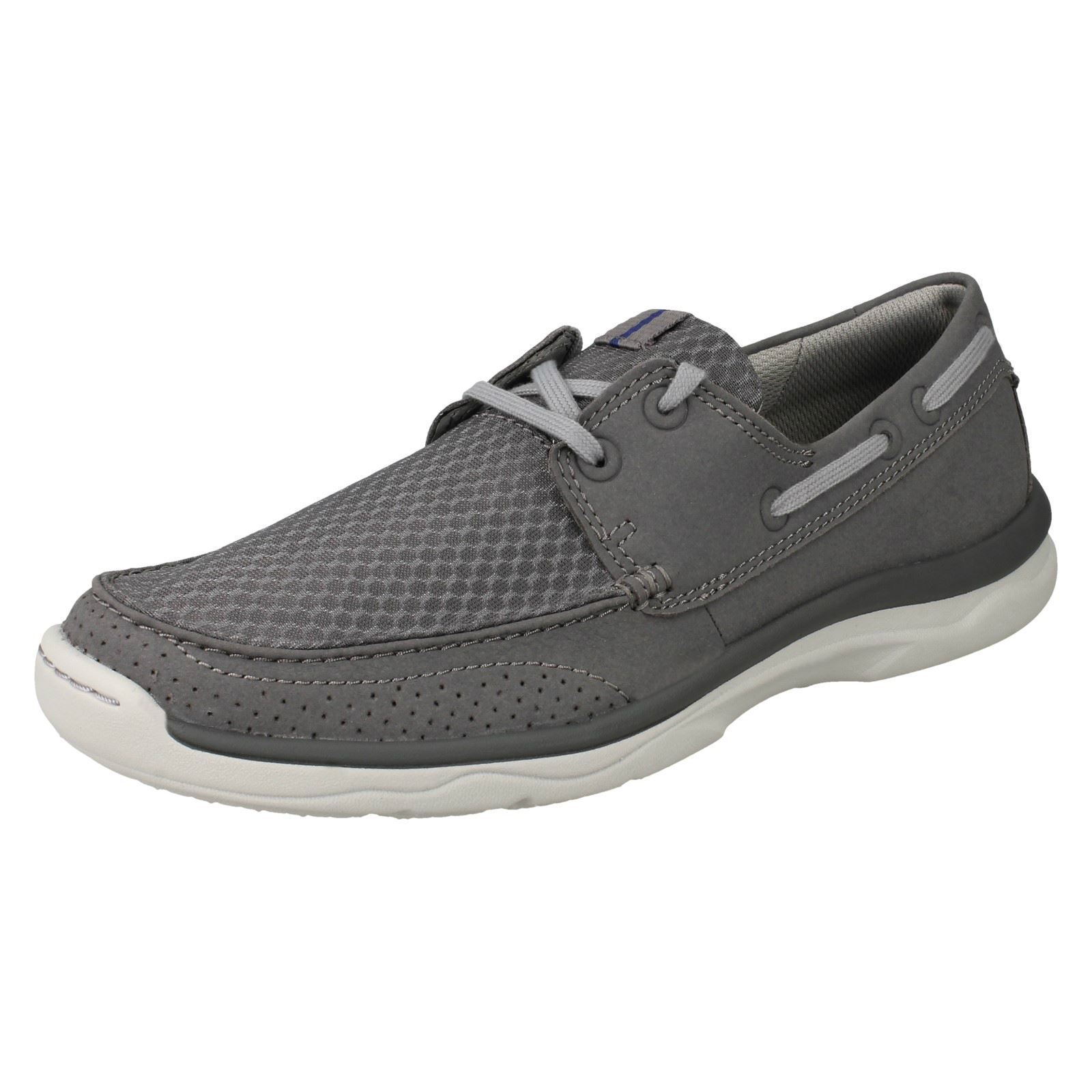 Mens Clarks Cloudsteppers Lace Up Casual schuhe 'Marus Edge'      |  | Für Ihre Wahl