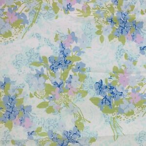 Flowers and Butterflies by Pacific Vintage Twin Fitted Sheet