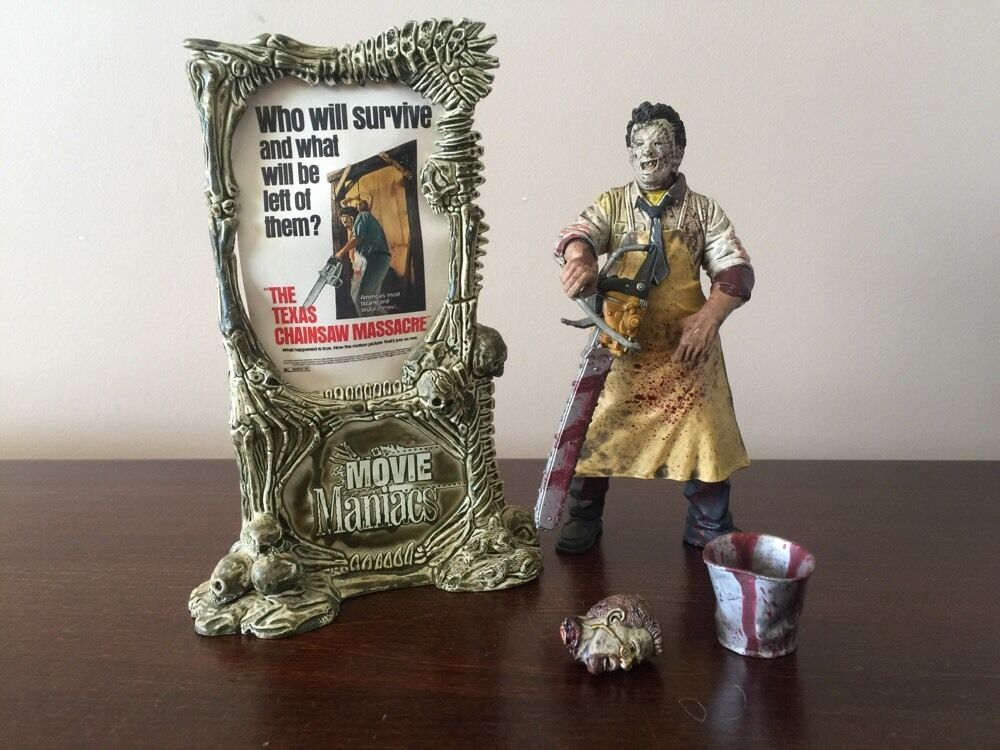 The The The Texas Chainsaw Massacre 1998 McFarlane Leather Face Action Figure 9c6690