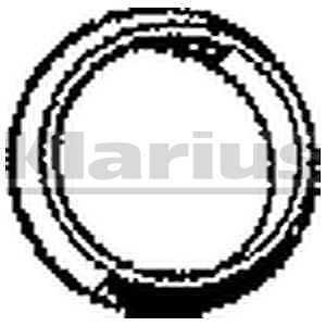 GENUINE Klarius Exhaust Gasket DNG13AQ BRAND NEW 5 YEAR WARRANTY