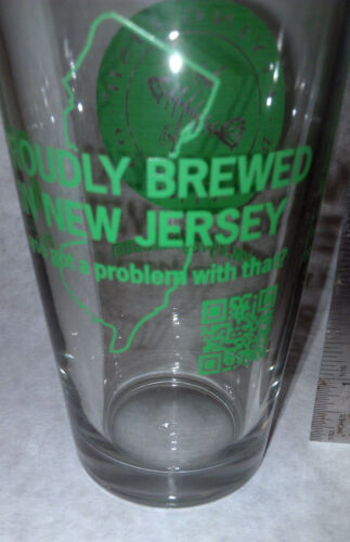 Flying Fish Brewing Beer Glass New collectible Excellent Condition brewed in NJ
