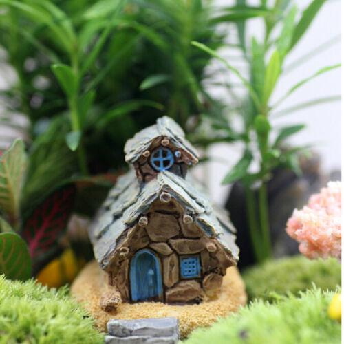 Landschaft Dekoration UE Steinhaus Fairy Garden Miniatur Craft Micro