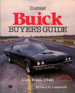 BUICK BOOK BUYERS GUIDE ILLUSTRATED LANGWORTH BUYER'S GS