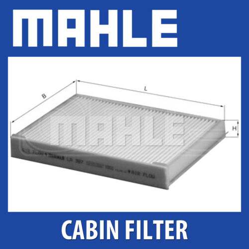 LA387 Genuine Part MAHLE Standard Pollen Cabin Air Filter LA 387
