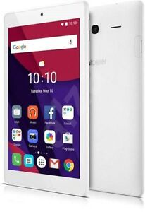 Alcatel-PIXI-4-7-034-Wifi-de-la-tableta-de-almacenamiento-8GB-1GB-Ram-1-3GHz-Android-Blanco