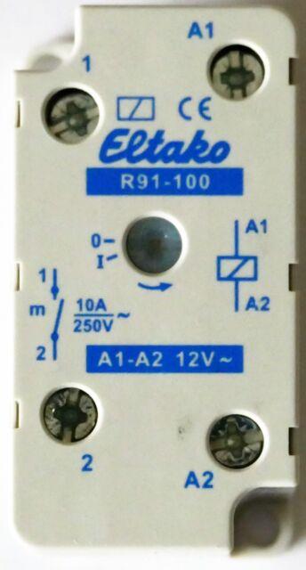 Eltako Schaltrelais f.EB/AP 1S 10A R91-100-12V                       1 Stück