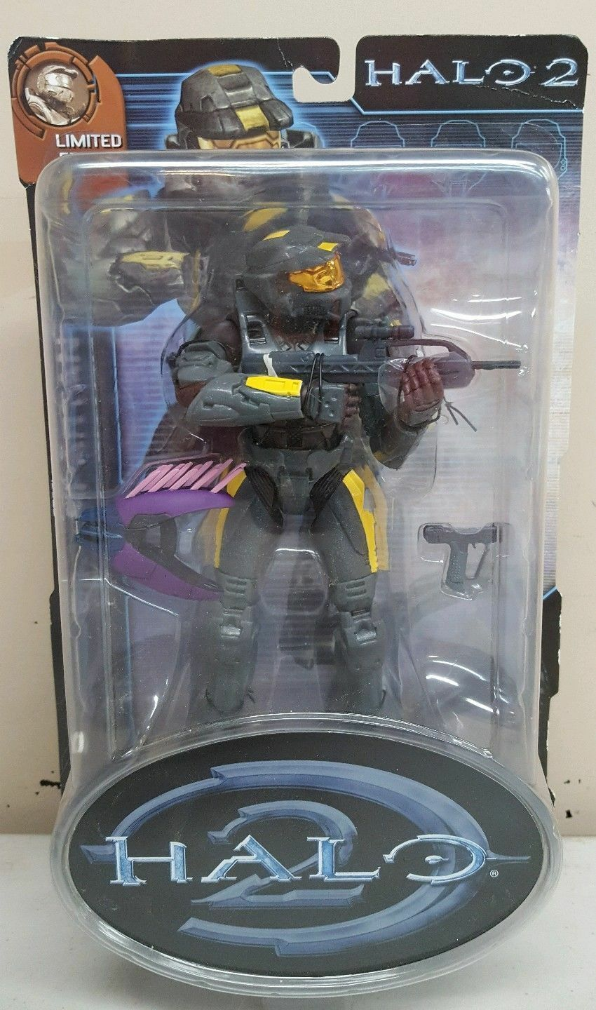 HALO 2 LIMITED EDITION STEEL SPARTAN JOYRIDE NEW RARE