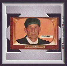 1955 Bowman LONNIE WARNEKE #299 NM+ *awesome card for your set* M40C