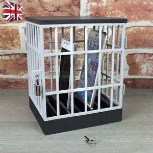 DARK-HERO-Mobile-Phone-Jail-Cell-Prison-Lock-Up-Safe-Smartphone-Home-Gadget