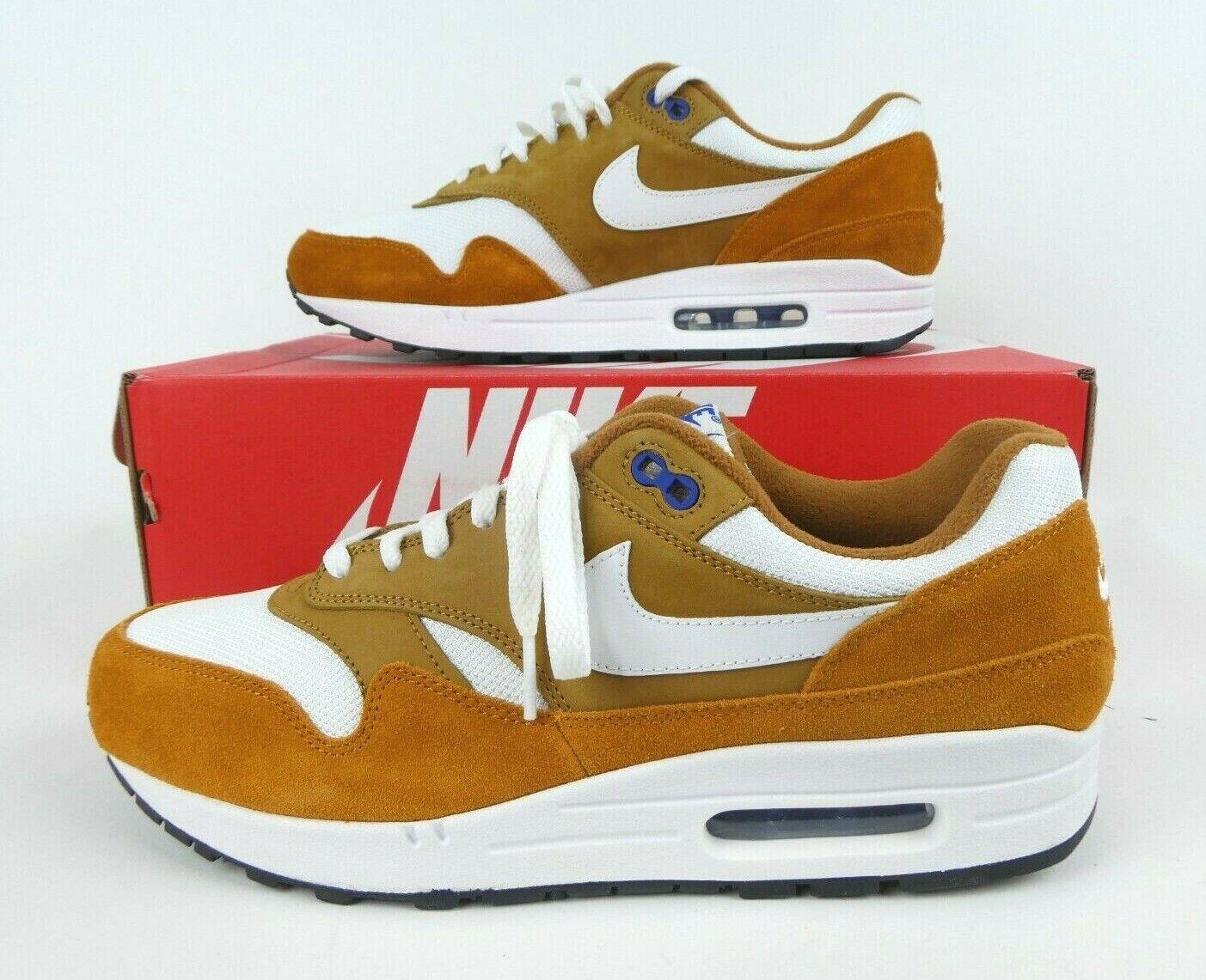 Nike Air Max 1 Premium Retro Mens Size 9.5 Dark Curry 908366-700