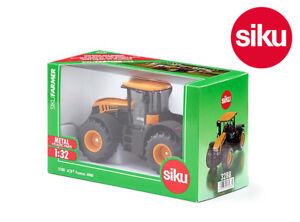 Siku 3288 Jcb Fastrac 4000 Tracteur travaillant de direction et attelage arrière avant 1:32 4006874032884