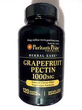 Grapefruit Pectin 1000Mg Natural Citrus Fiber Vegetarian Recipe 120 Pills Caplet