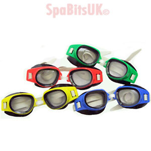 Swimming-Goggles-Ultra-Clear-Polycarbonate-Lens-CE-Pool-Beach-4-Colours-Osprey