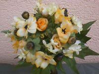 Blütenstrauß klein, Blumenstrauß, Kunstblumen, Seidenblumen, künstliche Pflanze