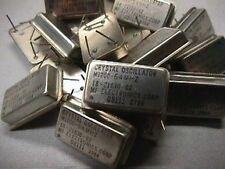 20 MF Elect. M1200-64M 64 MHz HCMOS XTl Oscillators