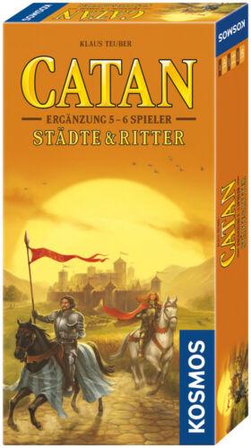 Städte /& Ritter Ergänzung für 5-6 Spieler von KOSMOS Catan