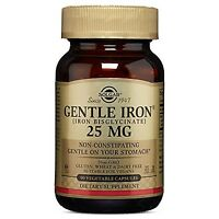 Solgar Gentle Iron Vegetable Capsules 90 Count