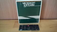 Vintage Microsoft SoftCard CP/M Z80A Card for Apple II IIe Computers With Manual