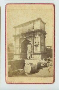 Vintage-CDV-Arco-di-Tito-Arch-of-Titus-Rome