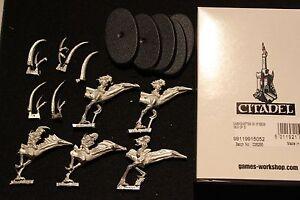 Warhammer Chaos Steeds Of Modèles Slaanesh X5 Juan Diaz Nouvelles Figurines En Métal