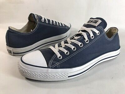 Men's Converse Chuck Taylor All Star Shoes Sz 12 OX Navy Blue Canvas X9697 | eBay