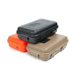 Shockproof Anti-Pressure Airtight Survival Case Waterproof Fav Storage Cont I5N7