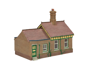 Bachmann-44-091G-OO-Gauge-Bluebell-Office-and-Store-Room-Green-and-Cream