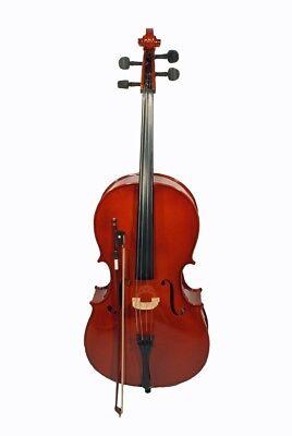 Apuesto Cherrystone 1/4 Cello Inklusive Bogen Und Tasche Revitalizar La CirculacióN SanguíNea Y Detener Los Dolores