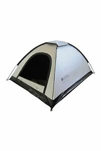Mountain Warehouse 2 Man Tent Black Interior Water Resistant 2 Person Camping