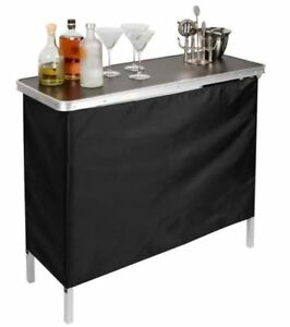 Image Is Loading Mini Bar Portable Folding Table Home Tail Party