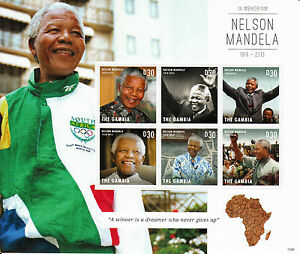 Gambie-2013-neuf-sans-charniere-nelson-mandela-en-memoriam-6v-m-s-i-policticians-timbres