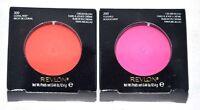 Set Of 2 Revlon Cream Blush Face Makeup 200 Flush Or 300 Coral Reef - You Choose