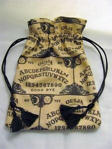 Ouija-Board-Theme-Wicca-Pagan-Tarot-Card-Drawstring-Mojo-Bag-Pouch-FREE-SHIP