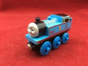 Details About Thomas And Friends Wooden Railway 1 Thomas Train Engine Tomy Ships Free T31