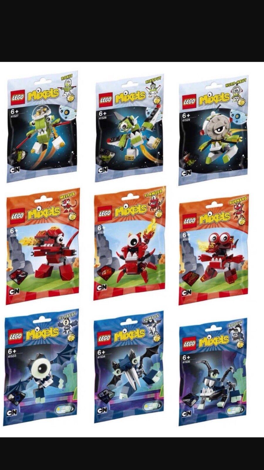 Lego Mixels Series 4 Complete Set