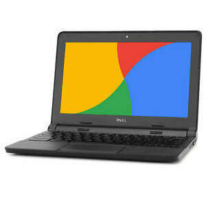 Dell-Chromebook-11-6-034-Laptop-Computer-Intel-Dual-Core-2GB-16GB-SSD-WiFi-Grade-B