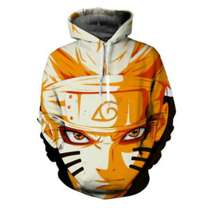 Image is loading Anime-NARUTO-UZUMAKI-Character-3D-Hoodie-Jacket-Sweatshirt-