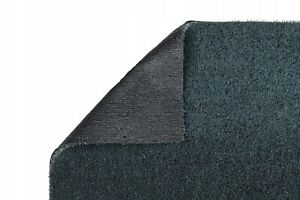 Kunstrasen-Rasenteppich-Spring-grau-6mm-Terrasse-Balkon-ohne-Noppen-meterware