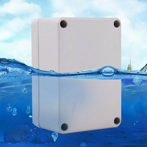 LARGE WEATHERPROOF OUTDOOR INDUSTRIAL ADAPTABLE WATERPROOF JUNCTION BOX ABS