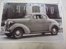 1938 PLYMOUTH P5 COUPE   11 X 17  PHOTO /  PICTURE