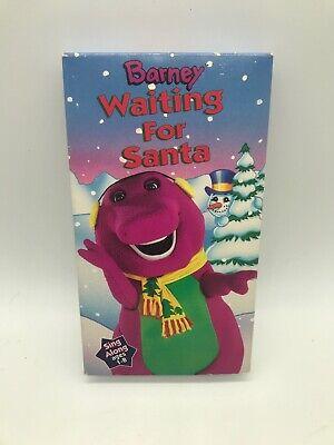 Barney And The Backyard Gang Waiting For Santa VHS Tape ...