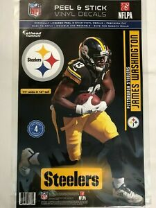 SP Images James Washington Steelers Fathead Teammate Sticker Wall Decal 17