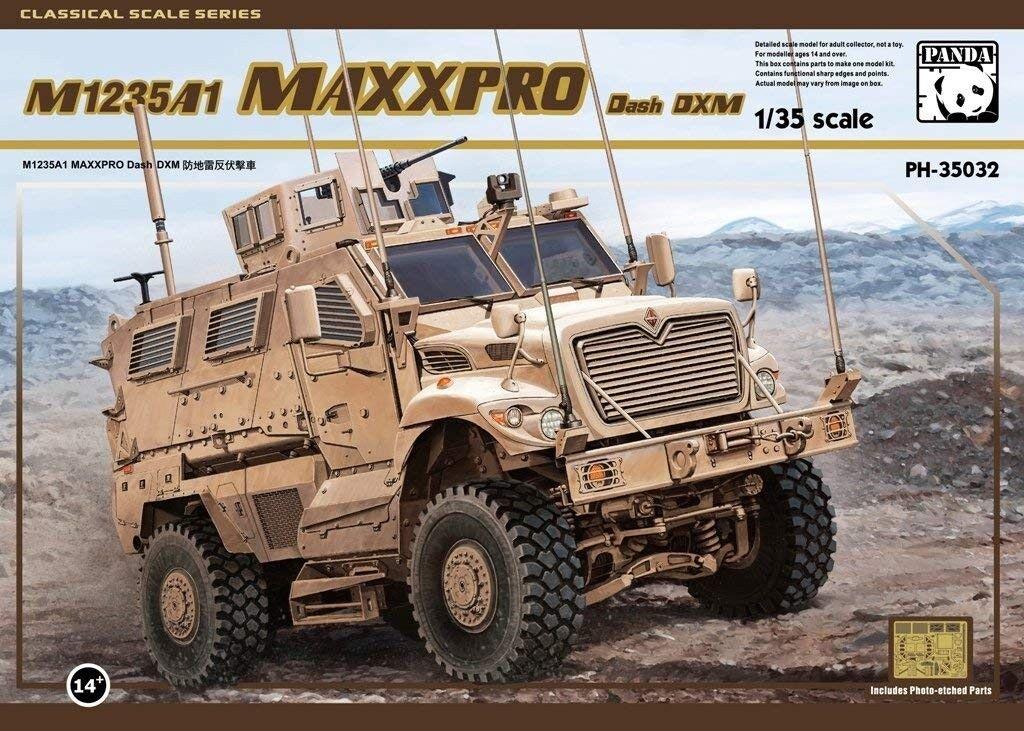 Panda M1235A1 Maxxpro Dash DXM Escala 1 35