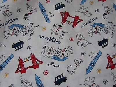 Feeding Sporting Dalmations Adventures White Bib Cotton Front Towelling Back Handmade Baby Bibs & Burp Cloths