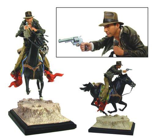 Indiana Jones On Horseback Statue Raiders lost ark by Gentle Giant