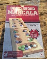 Factory Sealed Mancala Solid Wood Folding Game By Cardinal - 17.5 Board