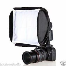 Portable 9 inch 23 cm Softbox Diffuser for Flash/Speedlite/Speedlight 23 x 23 cm