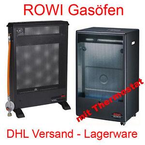 Rowi Blue Flame 4 2 Kw Katalytofen Gasofen Gasheizung Mit Thermostat